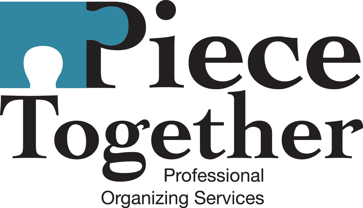 Piece Together Professional Organizing Service Logo